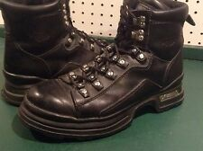 Harley-Davidson® Men's Soft toe Motorcycle Black Leather Biker Boots SZ US 9.5