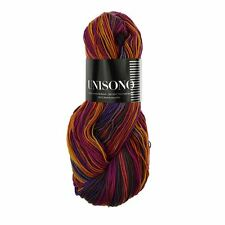 Zitron Unisono Merino Sock Yarn Aloe Vera/Jojoba - Purple/Pink/Yellow Mix (1212)