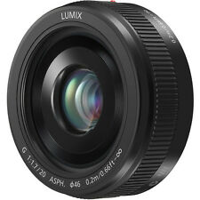Panasonic Lumix G 20mm f/1.7 AF Asph. II Lens for Micro Four Thirds (H-H020AK)