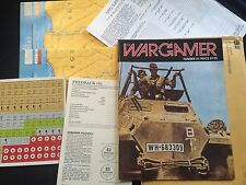 1986 The Wargamer #51 Duel in the Desert  UNPUNCH ED Complete + Envelope