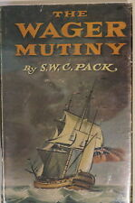 British HMS Wager Mutiny Anson's Squadron Spain 1740 Reference Book
