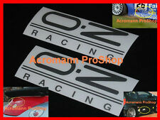 "2x 6"" 15.2cm OZ decal sticker O.Z Racing Superleggera Superturismo vinyl wheel"