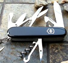 Victorinox CLIMBER Black Original Swiss Army Knife 53383 NEW!! Authentic!!