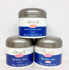 IBD - Builder Gel  CLEAR + PINK + WHITE COMBO = 3 x 2oz/56g