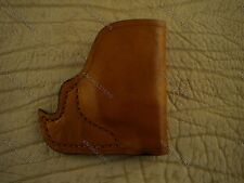 Beretta, Taurus,Diamond back 380 Front Pocket Leather Gun Holster Made In U.S.A.