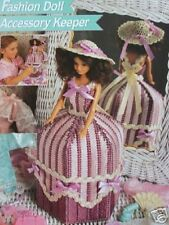 Plastic Canvas Fashion Doll Pattern ACCESSORY KEEPER