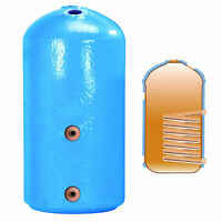 """HOT WATER TANK COPPER CYLINDER INDIRECT 42 x 16"""" 1050 x 400mm VENTED FOAM LAGGED"""