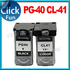 2x Ink Cartridge PG40 CL41 for Canon MP210 MP220 MP170 MP160 MP150 MP130 Printer