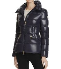 New Authentic 2017 Moncler Daphne Quilted Puffer Coat Nwt Navy
