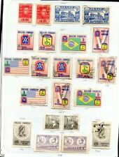 BRAZIL 22 STAMPS LOT, MH & USED