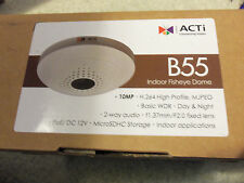 ACTi B55 10 MP WDR Network PoE IP Dome Security Surveillance Cam Camera