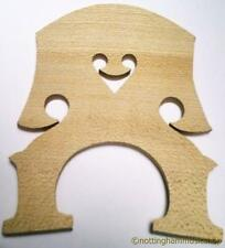 NEW 1/2 SIZE DOUBLE STRINGS BASS CONTRABASS BRIDGE