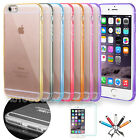 Slim Transparent Crystal Clear Hard TPU Case for Apple iPhone 6 / 6S Plus #49
