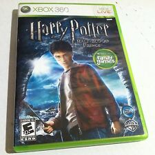 Harry Potter and the Half-Blood Prince (Microsoft Xbox 360, 2009) Used Complete