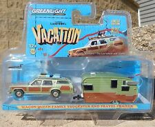 1:64 GreenLight NATIONAL LAMPOONS HITCH & TOW Family Truckster & Shasta Camper