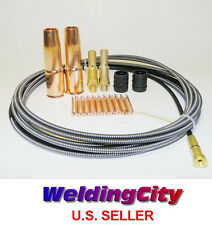"Accessory Kit for 0.035"" Wire in Lincoln 200 & Tweco #2 MIG Welding Guns (MAK7)"