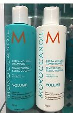 Moroccanoil Extra Volume Shampoo & conditioner both 250ML for Fine hair FREE P&P