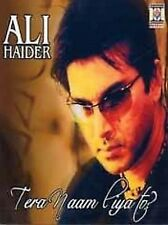 ALI HAIDER - BRAND NEW PAKISTANI  TERA NAAM LIYA TO - CD - FREE UK POST