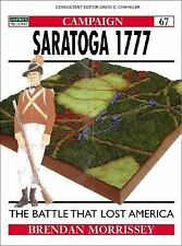 Saratoga 1777: Turning Point of a Revolution Campaign
