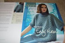 Norah Gaughan for Fibre Co. Knitting Pattern District Easy Mosaic Sweater 30-50""