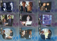 THE X-FILES CONNECTIONS 2005 INKWORKS COMPLETE BASE CARD SET OF 72 TV