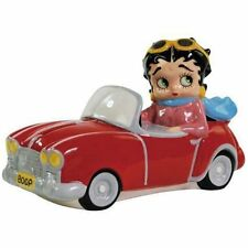 "Betty Boop Convertable Car- 5"" ceramic money box - (20182)"