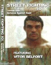 New Vitor Belfort UFC TRT MMA Self Defense Street Fighting Rape Krav Maga DVD