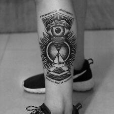 Einmal Tattoo Fake Tattoo Totem Motiv wasserfest Temporary Tattoo (TBS-8020)