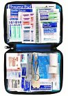 First Aid Kit 299-Piece Emergency Survival Medical Bag Car Auto Outdoor Travel