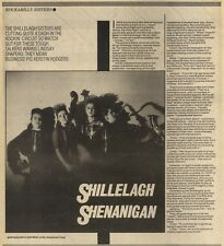 3/12/83PN11 ARTICLE THE SHILLELAGH SISTERS - 0N THE ROCKIN CIRCUIT