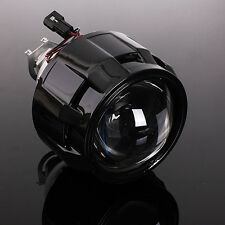 "2.5"" Car Mini Bi-xenon HID Projector Lens Angels Eye Headlight Shroud H1 H4 LHD"
