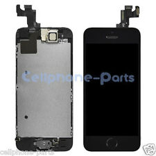 OEM iPhone 5s LCD Screen Digitizer Touch + Frame, Camera & Home Button, Black