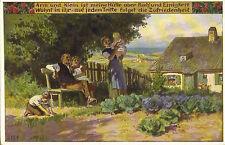 Volksliedkarten von Paul Hey-Nr. 91,VDA Künstlerkarte-Arm u. klein ist meine Hüt