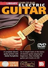 Lick Library Learn to Play Electric Guitar DVD NEW FREE SHIPPING