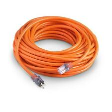 Extension Cord 75' 10 Ga Heavy Duty Grounded UL Lit Ends 10/3 Gauge AWG Ft Feet