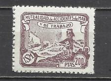 230A-mnh** SELLO 200 PTS  FISCAL MARINA CIVIL MUTUALIDAD DE ACCIDENTES DEL MAR