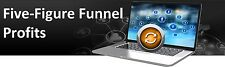 Step By Step Five Figure Funnel Blueprint- Guide and 8 Videos on 1 CD