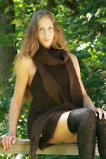 MOHAIR DRESS with ANGORA STOLE...more