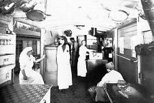 WW1 - Guerre 14/18 - Wagon cantine dans un train sanitaire
