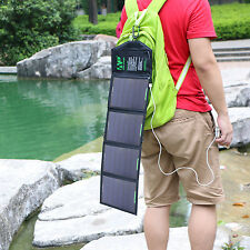 5V 18W USB Foldable Portable Solar Panel Charger Pack Fr Tablet iPhone 5 5s 6 6s