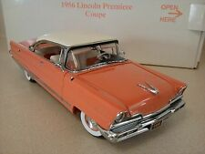 DANBURY MINT 1956 LINCOLN PREMIERE COUPE..1:24..NIB..UNDISPLAYED..PERFECT PAINT
