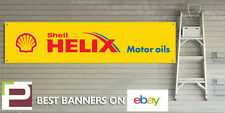 Shell HELIX MOTOR OIL banner per Garage Officina o Pit Lane, Ferrari, Audi, BMW