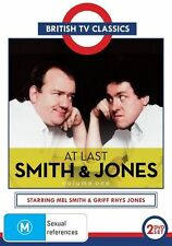 C11 BRAND NEW SEALED British TV Series At Last Smith & Jones Volume 1 (DVD,1989)