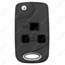 New Replacement Flip Key Case Shell Keyless Remote Car Fob Uncut Blade Fix