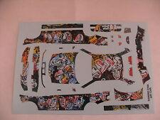 decals decalcomanie bmw sandro ghia art car  1/43