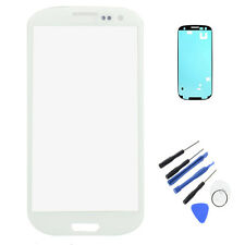 Front Touch Screen Glass+Tools Assembly For Samsung Galaxy S3 i9300 T999 White