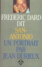 FREDERIC DARD DIT SAN-ANTONIO . UN PORTRAIT PAR JEAN DURIEUX .