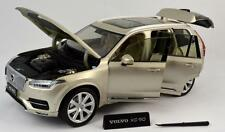 ULTIMATE DIECAST 2015 /16 VOLVO XC90 MODEL LUMINOUS METALLIC SAND CAR 1:18 88191