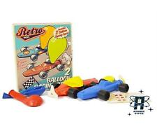 NEW VINTAGE STYLE SET OF 2 KIDS CHILDRENS PARTY BALLOON CAR RACERS COOL TOY GIFT
