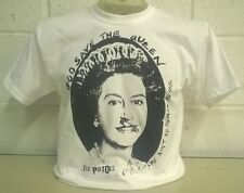Sex Pistols - God Save The Queen 'White' T-Shirt